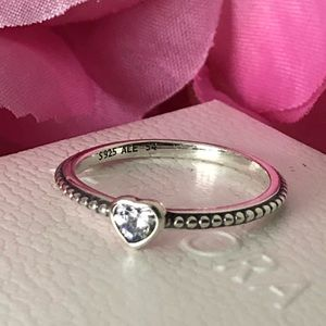 Pandora Ring: One Love Clear